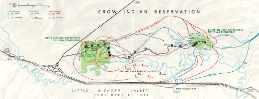 Little Bighorn Map