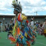 Grass Dance - Pow-Wow Browning, Montana, USA